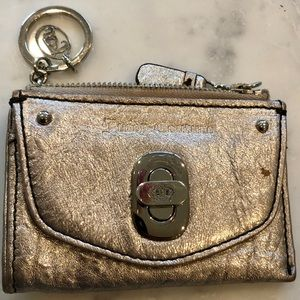 Juicy couture vintage keychain wallet